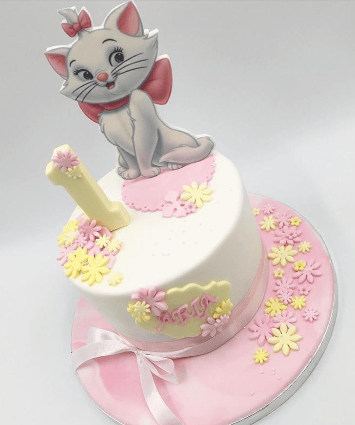 Pretty Disneys Marie Cake