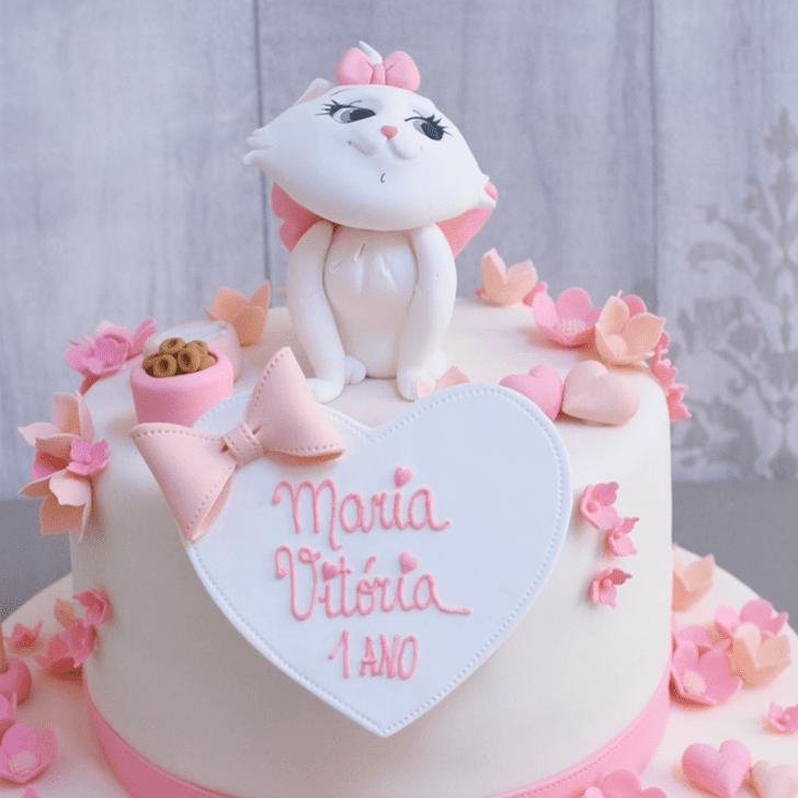 Refined Disneys Marie Cake