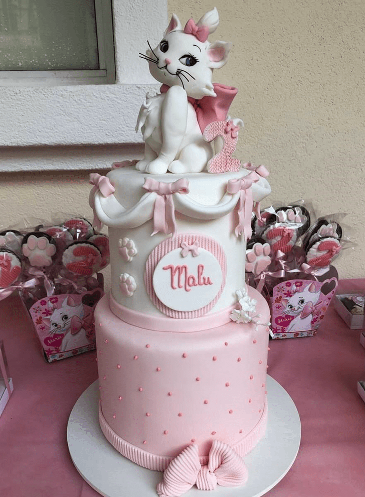 Superb Disneys Marie Cake