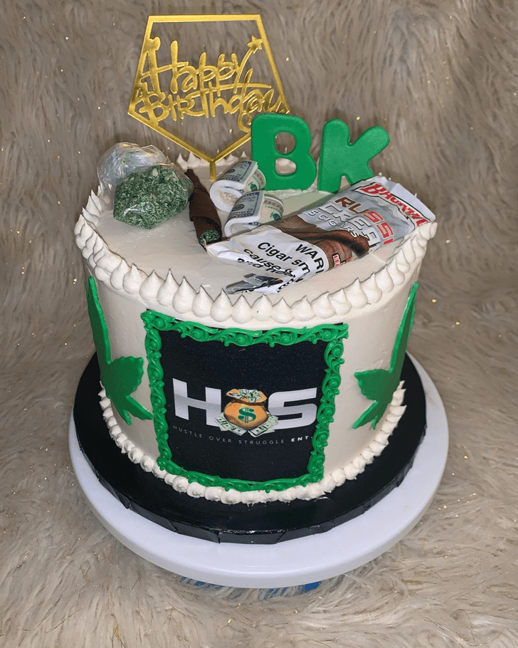 Adorable Marijuana Cake