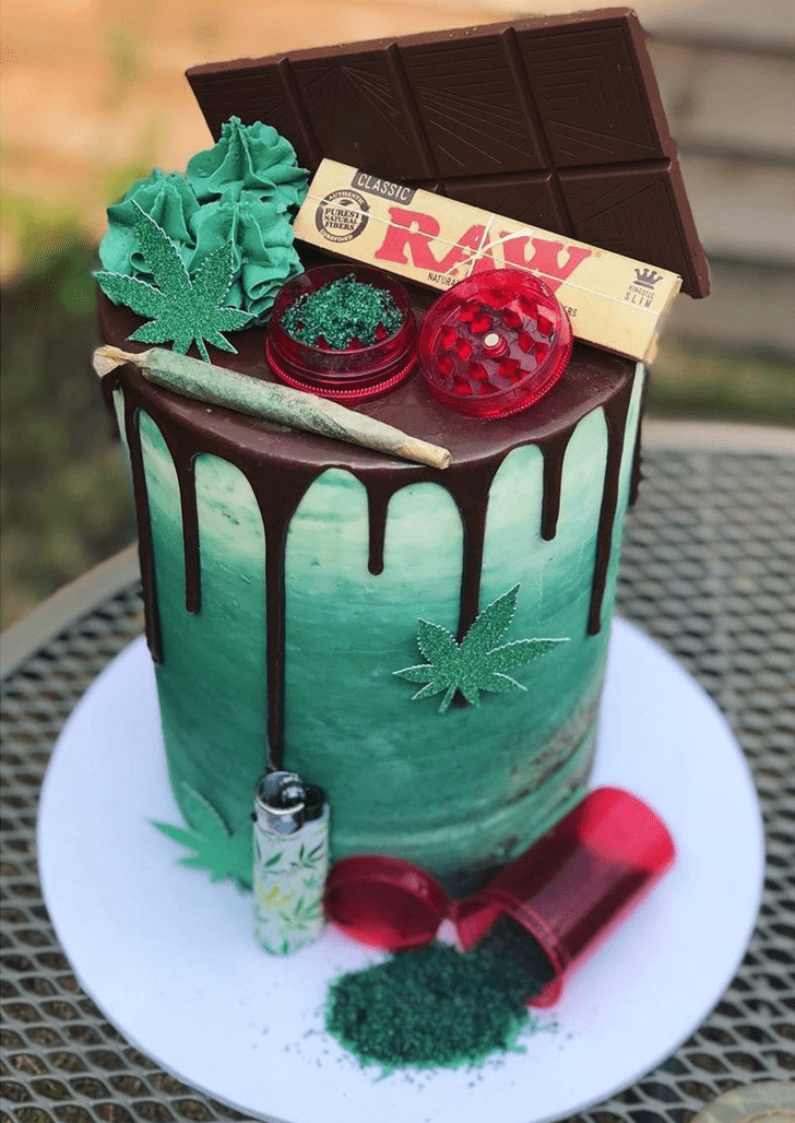 Beauteous Marijuana Cake