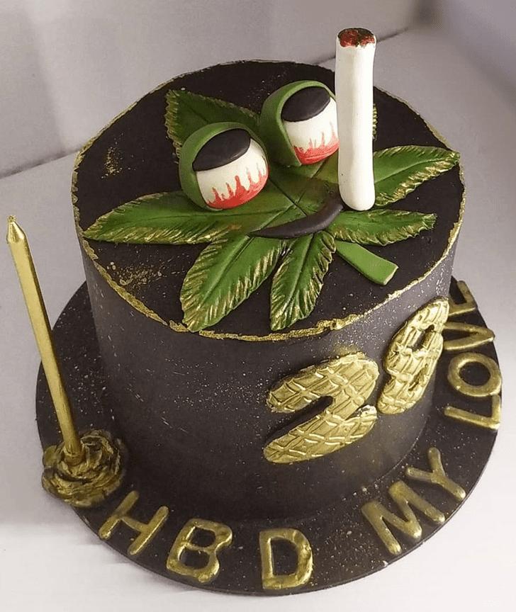 Classy Marijuana Cake