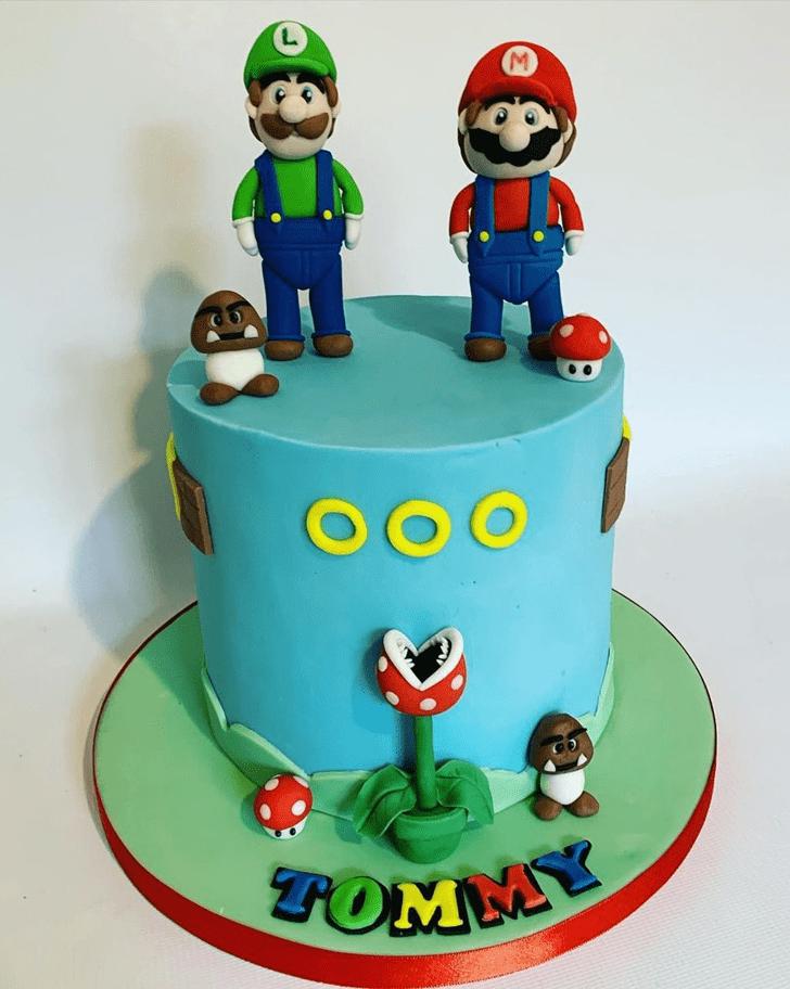 Adorable Mario Cake