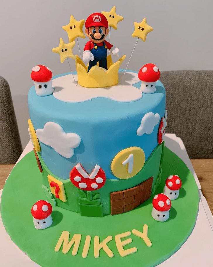 Angelic Mario Cake