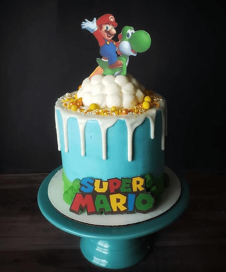 Resplendent Mario Cake