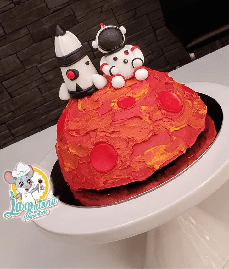 Captivating Mars Cake