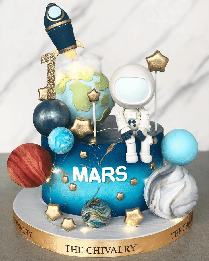 Delicate Mars Cake