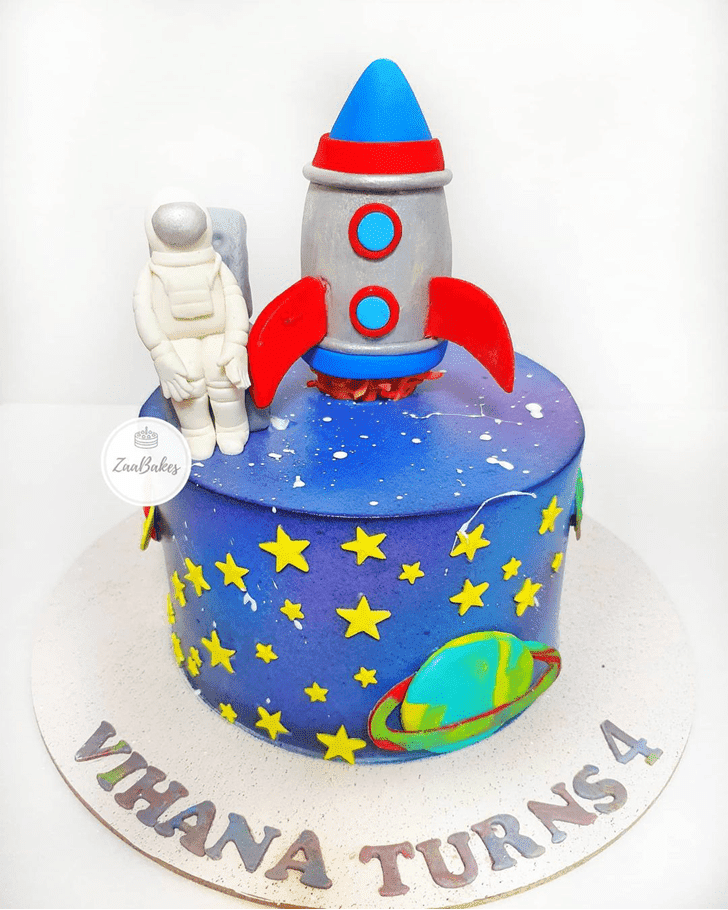 Delightful Mars Cake