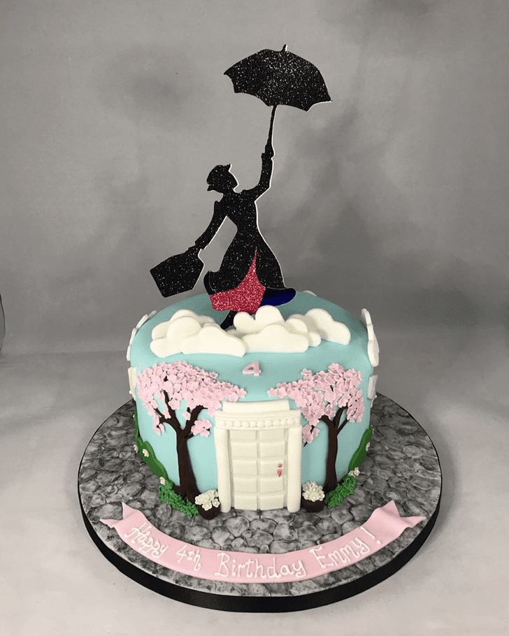 Admirable Mary Poppins Cake Design