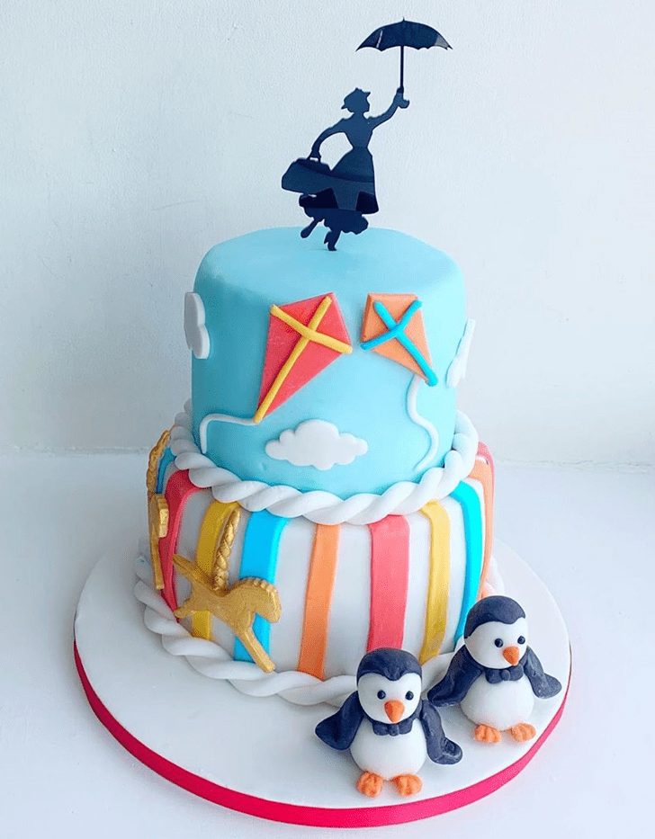 Alluring Mary Poppins Cake
