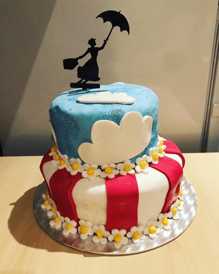 Appealing Mary Poppins Cake