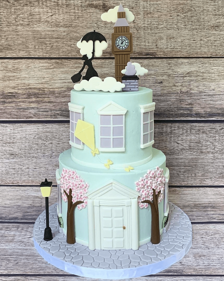 Beauteous Mary Poppins Cake