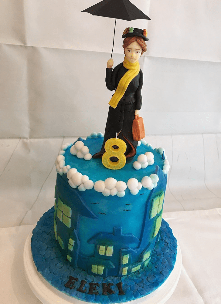Charming Mary Poppins Cake