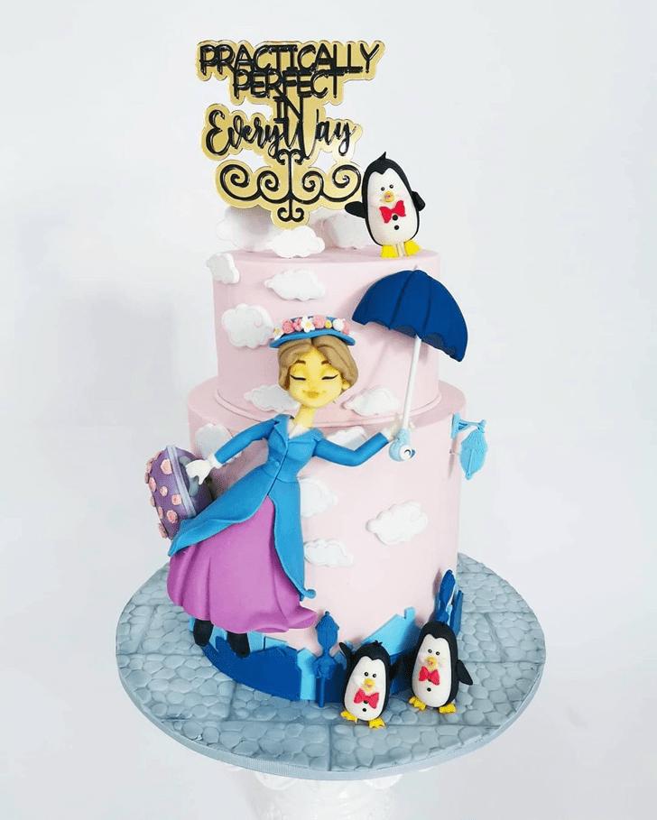 Classy Mary Poppins Cake