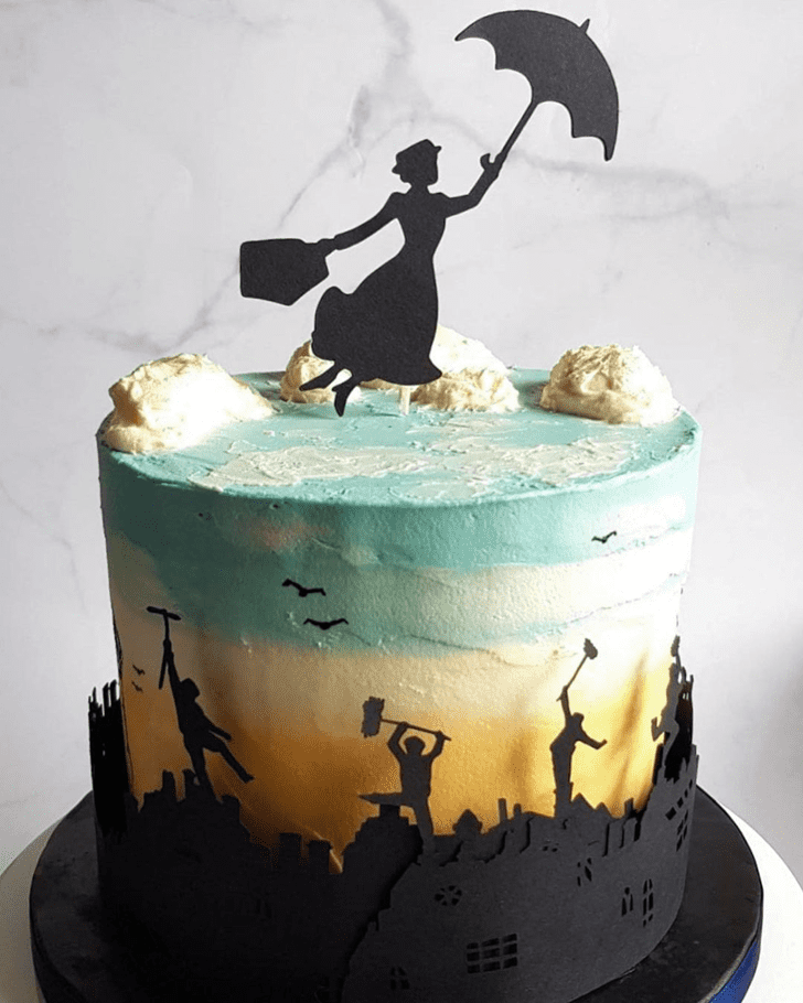Comely Mary Poppins Cake
