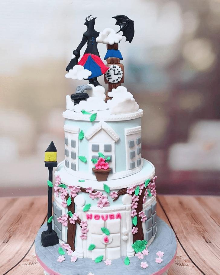 Dazzling Mary Poppins Cake