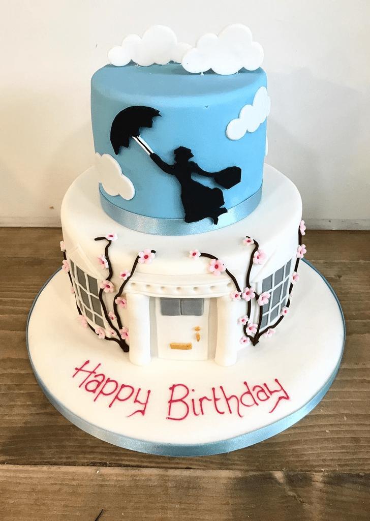 Elegant Mary Poppins Cake