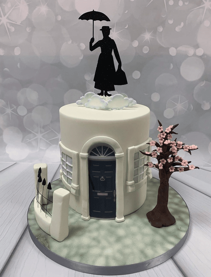 Enthralling Mary Poppins Cake