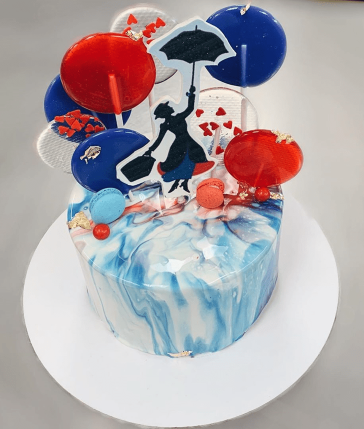 Fascinating Mary Poppins Cake