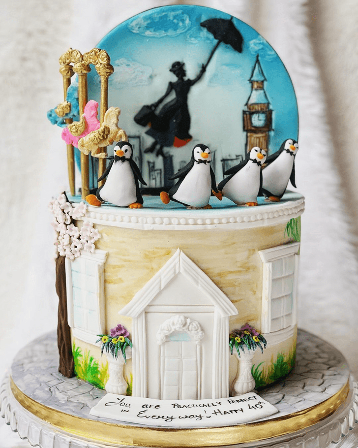 Good Looking Mary Poppins Cake