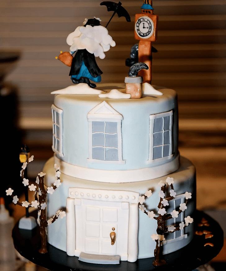 Lovely Mary Poppins Cake Design