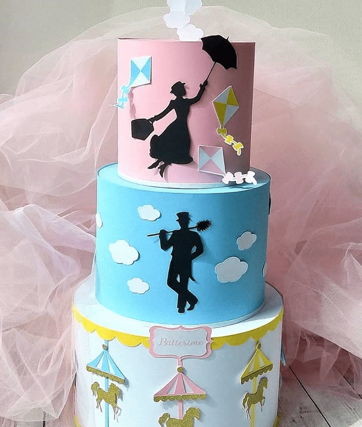 Magnetic Mary Poppins Cake