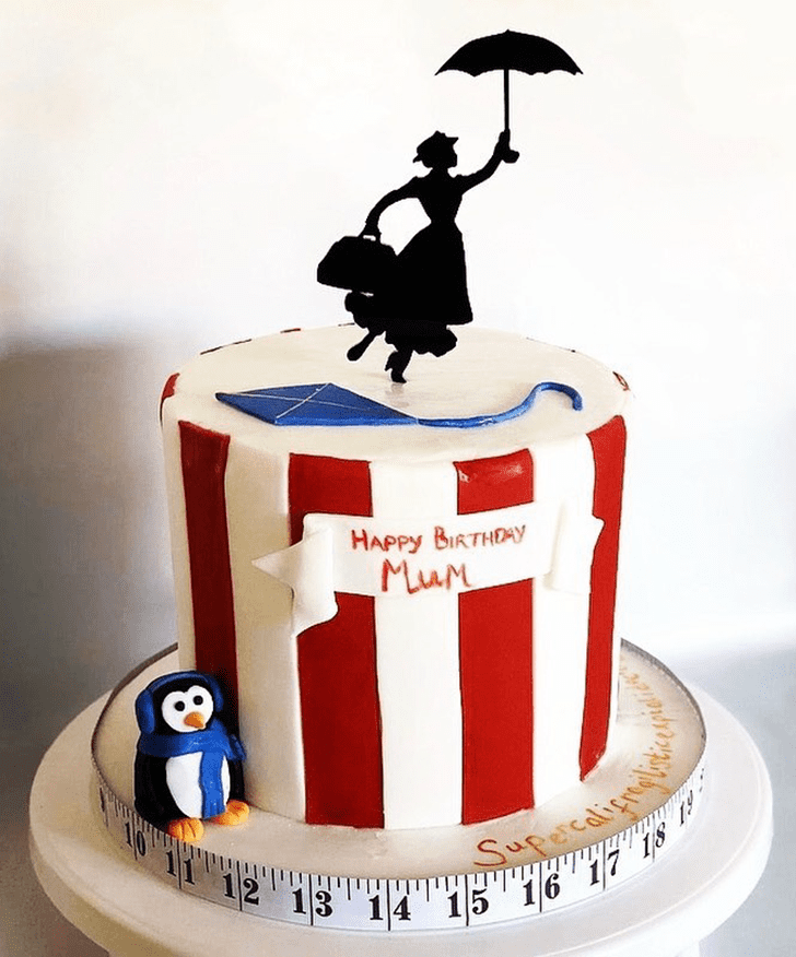 Magnificent Mary Poppins Cake