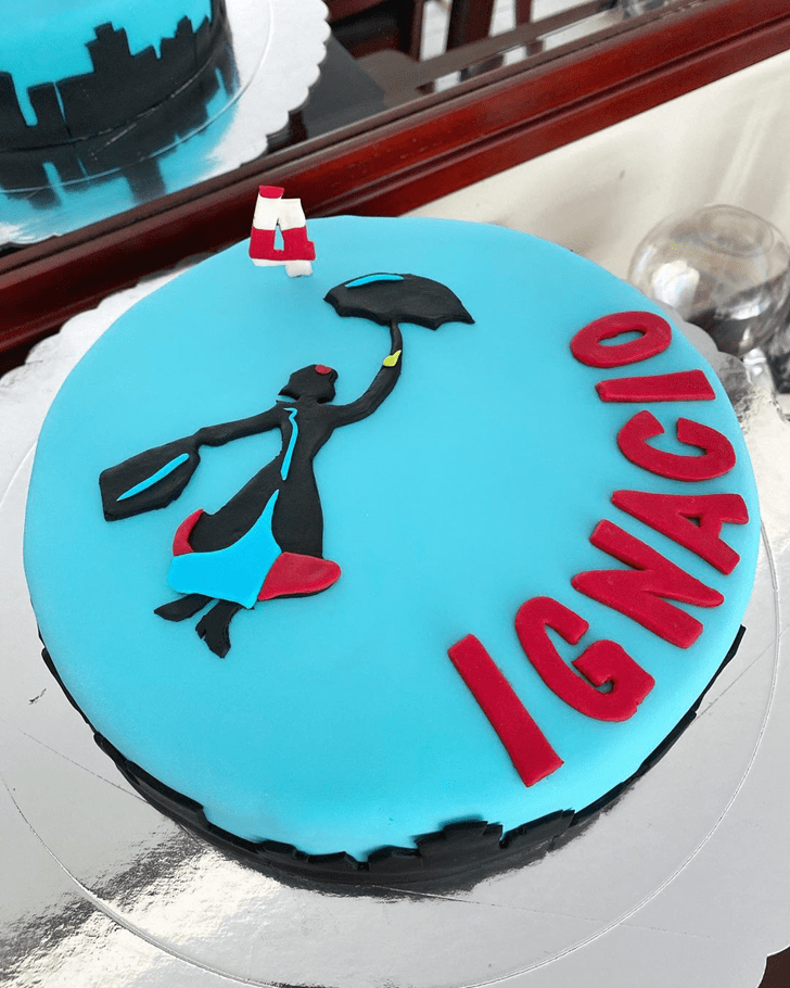 Mesmeric Mary Poppins Cake