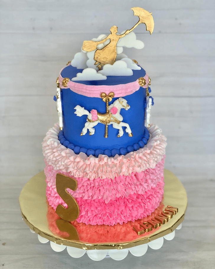 Pleasing Mary Poppins Cake