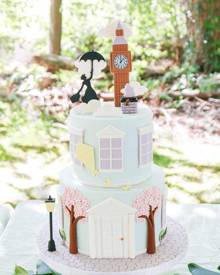 Radiant Mary Poppins Cake