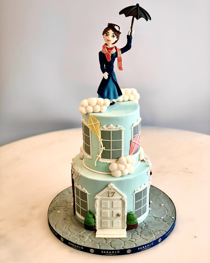 Ravishing Mary Poppins Cake