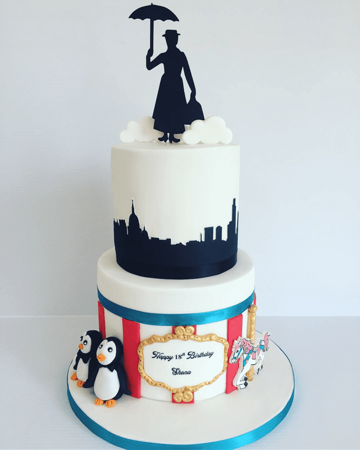 Refined Mary Poppins Cake