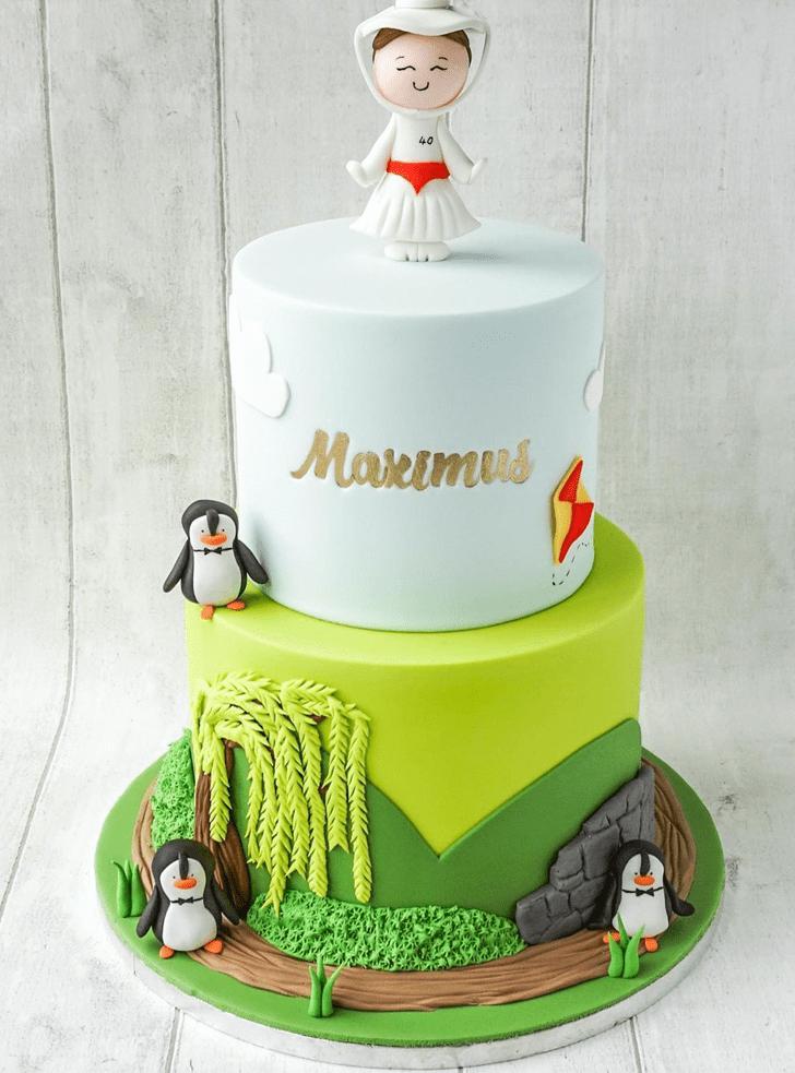 Resplendent Mary Poppins Cake