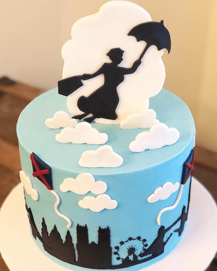Shapely Mary Poppins Cake