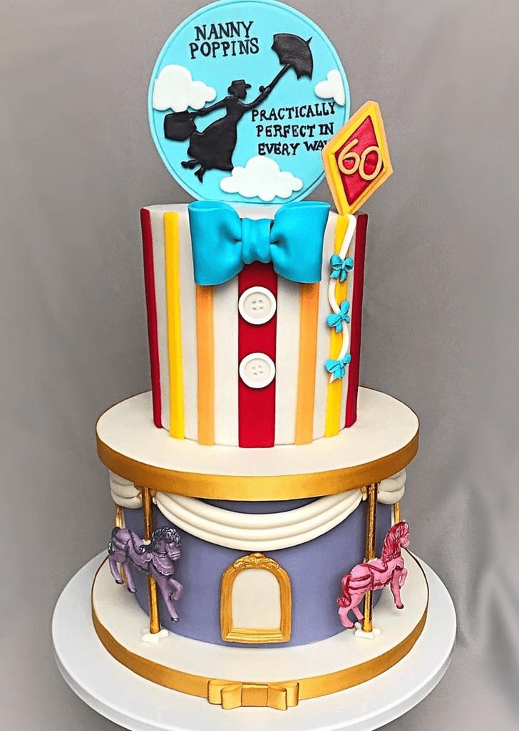 Slightly Mary Poppins Cake