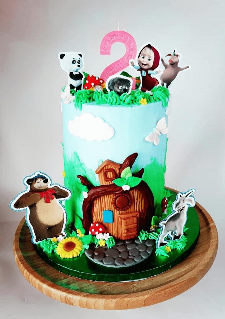 Angelic Masha Cake