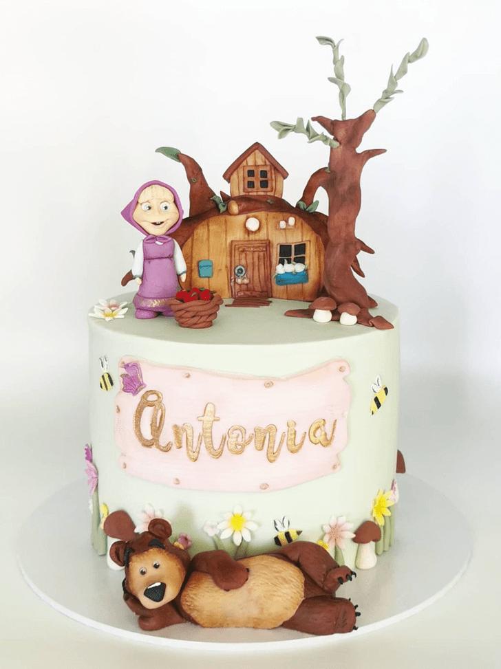 Appealing Masha Cake