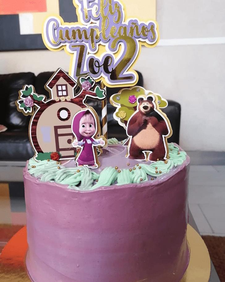Beauteous Masha Cake