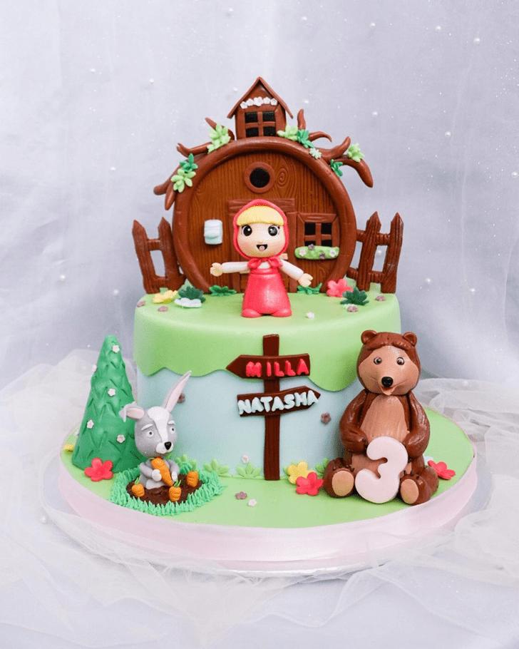 Captivating Masha Cake