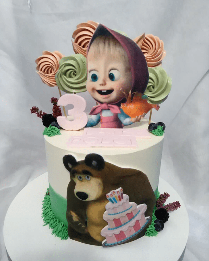 Comely Masha Cake