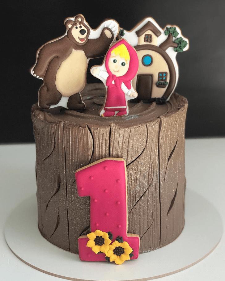 Cute Masha Cake