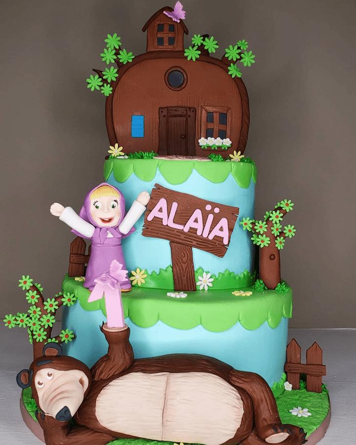 Delicate Masha Cake