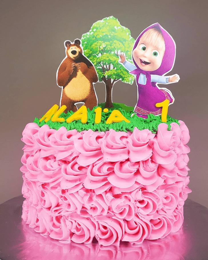 Delightful Masha Cake