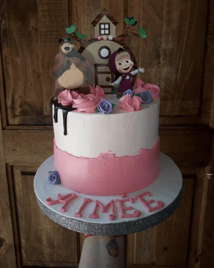 Elegant Masha Cake