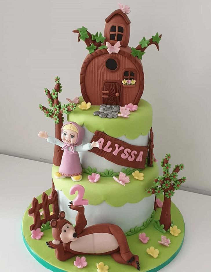 Enticing Masha Cake