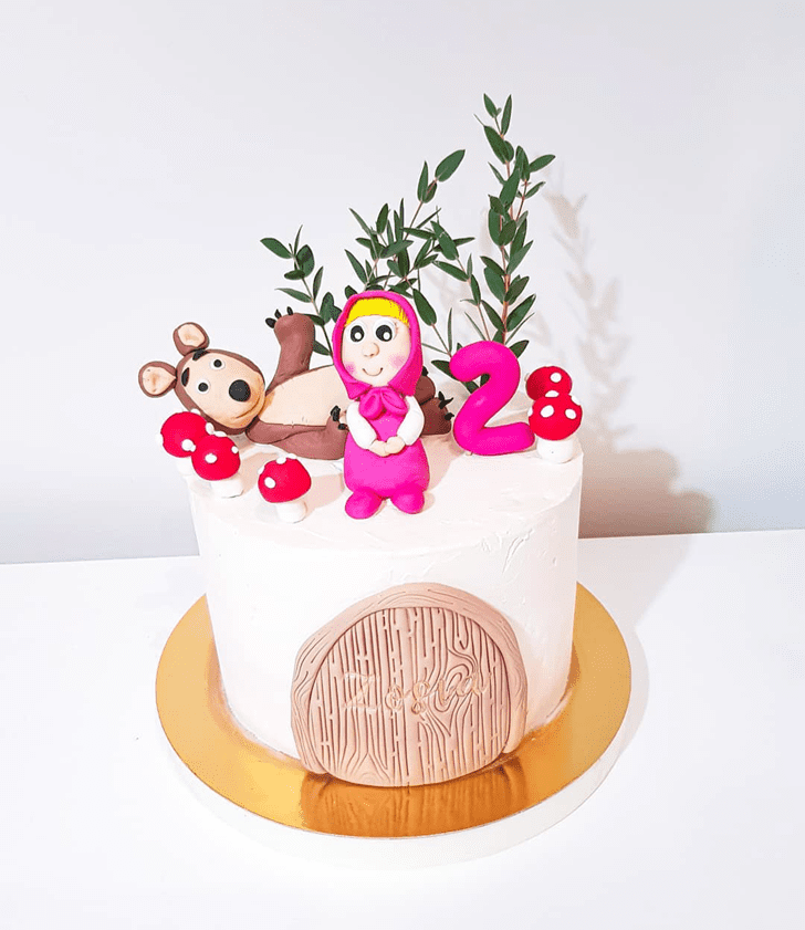 Fine Masha Cake