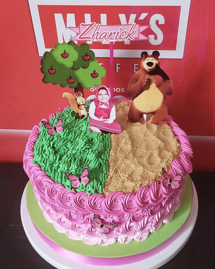 Good Looking Masha Cake
