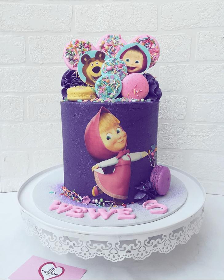 Graceful Masha Cake