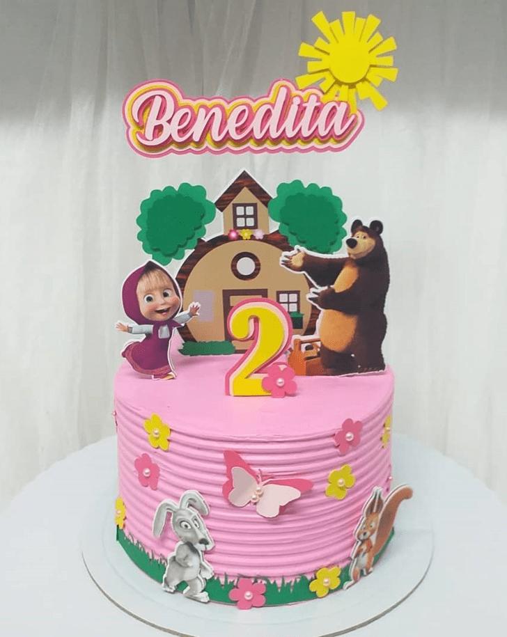 Ideal Masha Cake