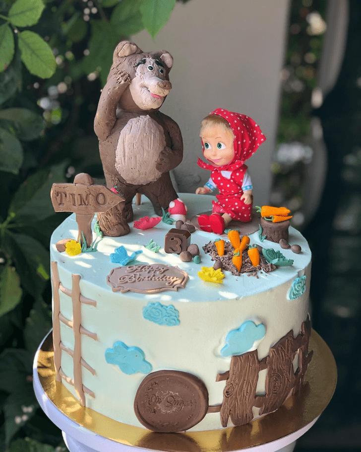 Marvelous Masha Cake